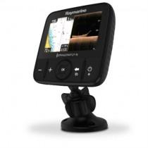 """Raymarine Dragonfly 5"""" Sonar/GPS mit integriertem CHIRP DownVision und CHIRP Sonar inkl. CPT-DVS Geber & Wi-Fi EU-CMAP Essentials Karte"""