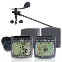 Raymarine | Tacktick | mn100-2 Kabelloses Log-, Lot- Wind- und NMEA-System mit T111, T112, T120, T121, T122, T911, T912
