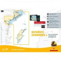 DK Sportbootkarten Satz 12: Ostküste Schweden 2