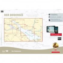 DK Sportbootkarten Satz 10 Bodensee