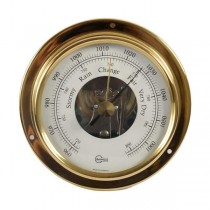 Barigo Mini Barometer  Ø 70 mm Messing