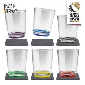 Silwy Magnet-Kunststoff Trinkbecher (6er-Set), Multicolour