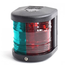 Aqua Signal 25, Zweifarbenlaterne, schwarz