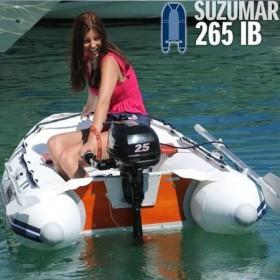 Suzumar Schlauchboot 265 KIB inkl. Suzuki 5 PS Außenborder