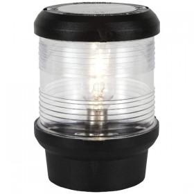 Aqua Signal 40, Signallaterne für Festanbau, schwarzes Gehäuse, 12 V