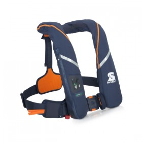 Secumar Automatikrettungsweste Survival, 275 N, dunkelblau/orange
