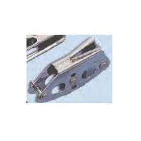 RWO-Edelstahlblock mit Klemme, 3-6mm Tau