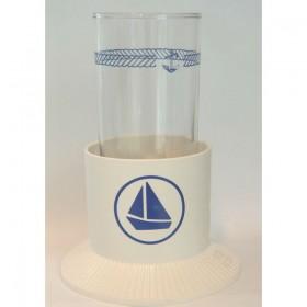 Glashalter mit Saugboden