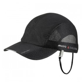 MUSTO fast dry Technical Cap schwarz