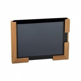 Tablet-Halter Teak variabel montierbar