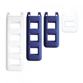 Treppenfender 3-stufig blau