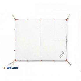 seaEQ Sonnensegel Quattro weiss, 2,6 x 3 m, wasserdicht