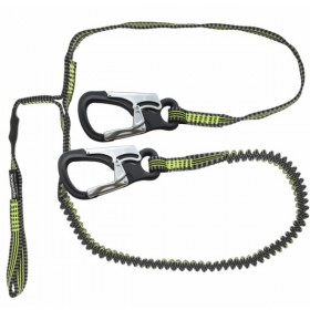 Spinlock 2-Clip-1-elastische Schlaufe Perfomance Sicherheitsleine 2 m elastisch