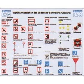 Aufkleber: Schifffahrtszeichen der Bodensee-Schifffahrts-Ordnung