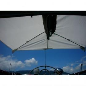FixTop Sonnensegel weiss 250 x 300 cm