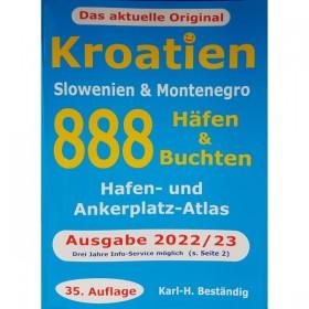 Kroatien - 888 Häfen und Buchten: Küsten -und Hafenführer, Karl-Heinz Beständig 35. Auflage 2022/23