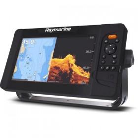 "Raymarine Element 7 HV 7"" Kartenplotter mit CHIRP Sonar, HyperVision, Wi-Fi & GPS, HV-100 Geber"