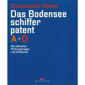 Das Bodensee-Schifferpatent A + D Overschmidt / Gliewe