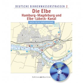 Deutsche Binnenwasserstraßen 2, Die Elbe / Hamburg - Magdeburg und Elbe-Lübeck-Kanal