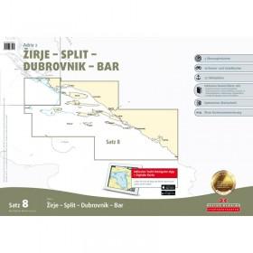 Sportbootkarten Satz 8: Adria 2 (Ausgabe 2019/2020)