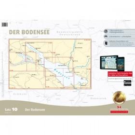 Sportbootkarten Satz 10: Bodensee 2018