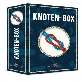 Knoten-Box mit Leinen, Ring und 28-Seiten Anleitung