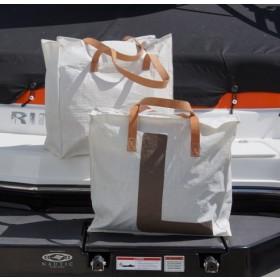 Shopper-Tasche aus Lacustre-Segeln - KTEP Hilfe zur Selbsthilfe