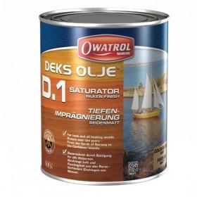 Owatrol Deks Olje - D.1 Tiefenimprägnierung seidenmatt 1 Liter